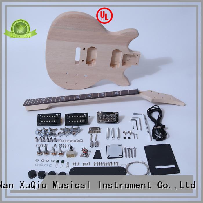 XuQiu best 12 string electric guitar kit supplier for beginner