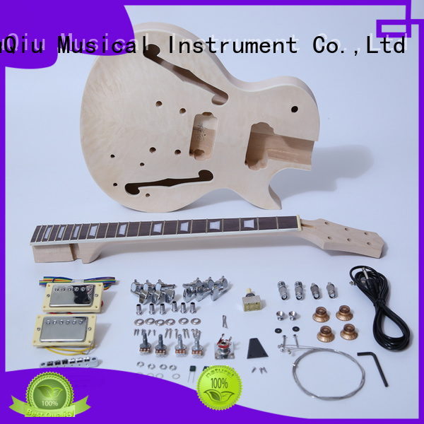 custom acoustic electric guitar kit supplier for concert