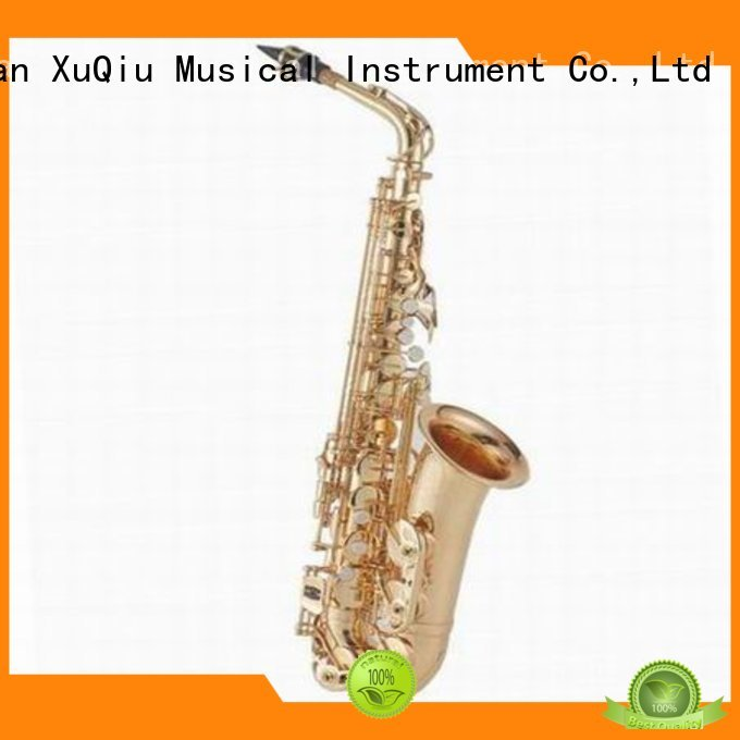 XuQiu custom silver alto saxophone manufacturer for beginner