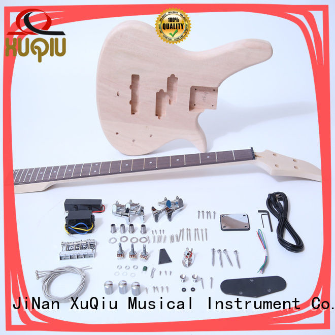 XuQiu snbk012 unfinished bass guitar kit woodwind instruments for concert