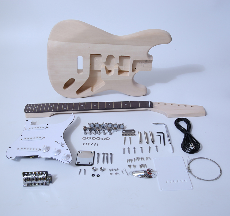 DIY Electric Guitar Kit - ST Style Build Your Own Guitar SNGK001