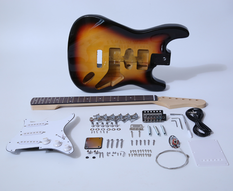 ST Electric Guitar Kits-Painting SNGK001SB