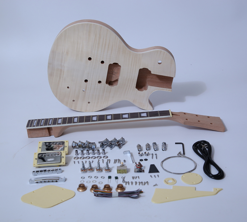 DIY Electric Guitar Kit singlecut Style Build Your Own Guitar Kit SNGK004