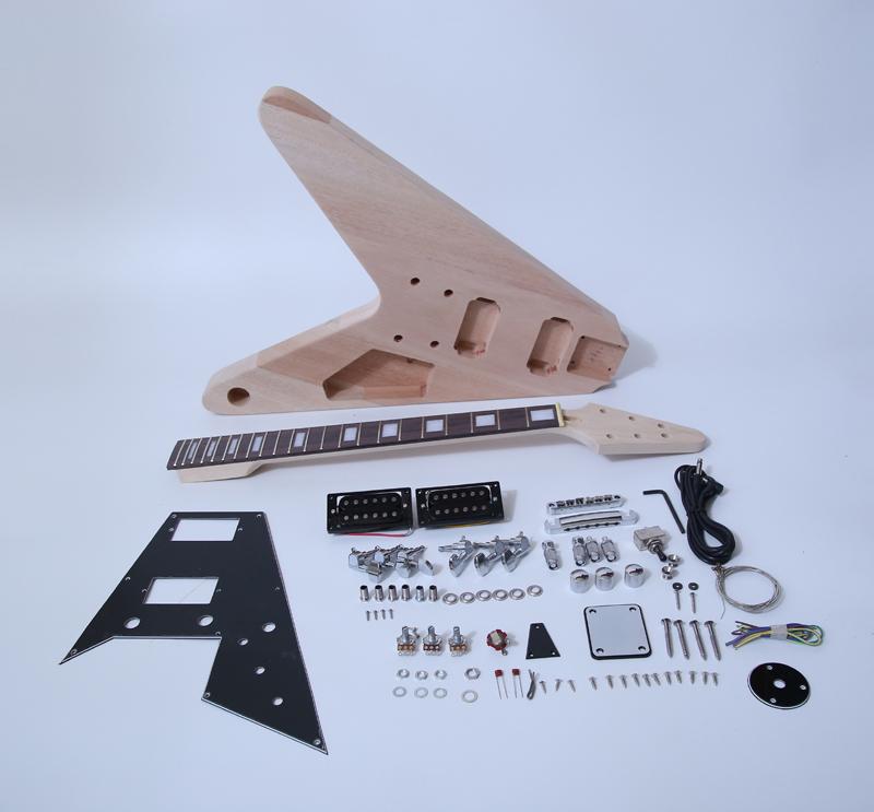 Diy les paul Guitar Kits SNGK009