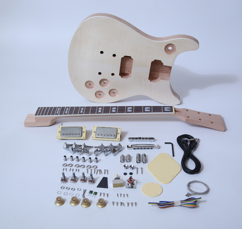 DIY Electric Guitar Kit-PRS Double Cut Build Your Own Guitar Kit SNGK010