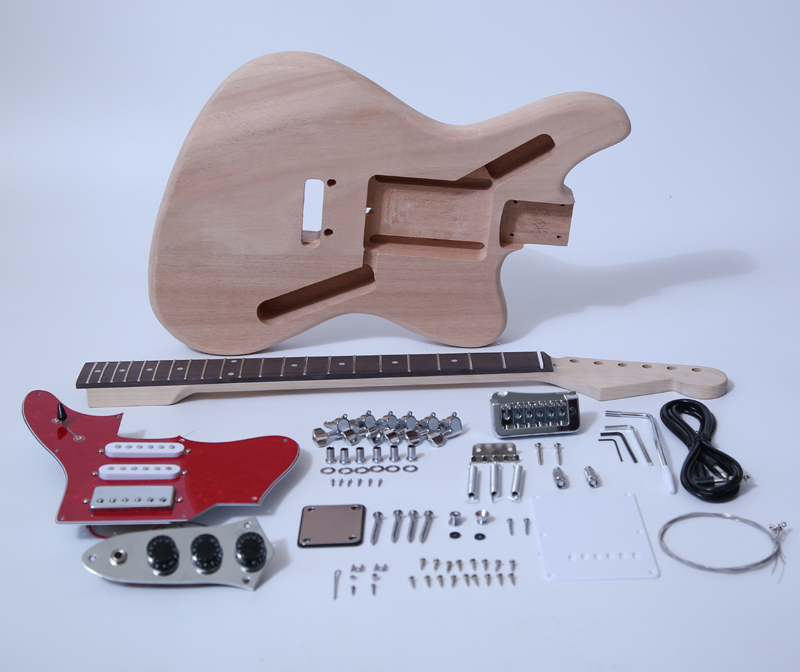 DIY Electric Guitar Kit-Jaguar Style Build Your Own Guitar Kit SNGK022