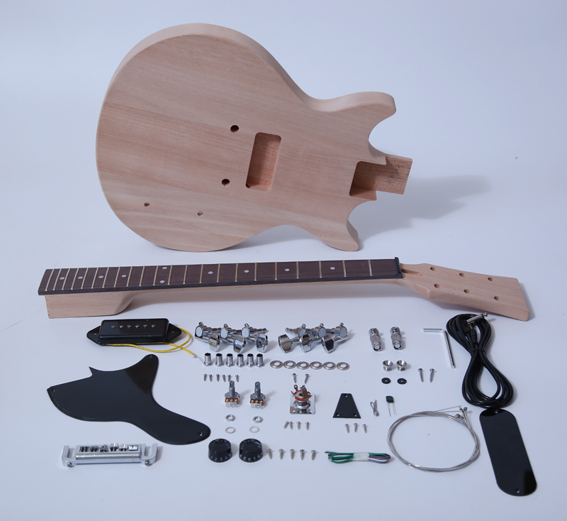 Unfinished Electric Guitar Kits SNGK028DC