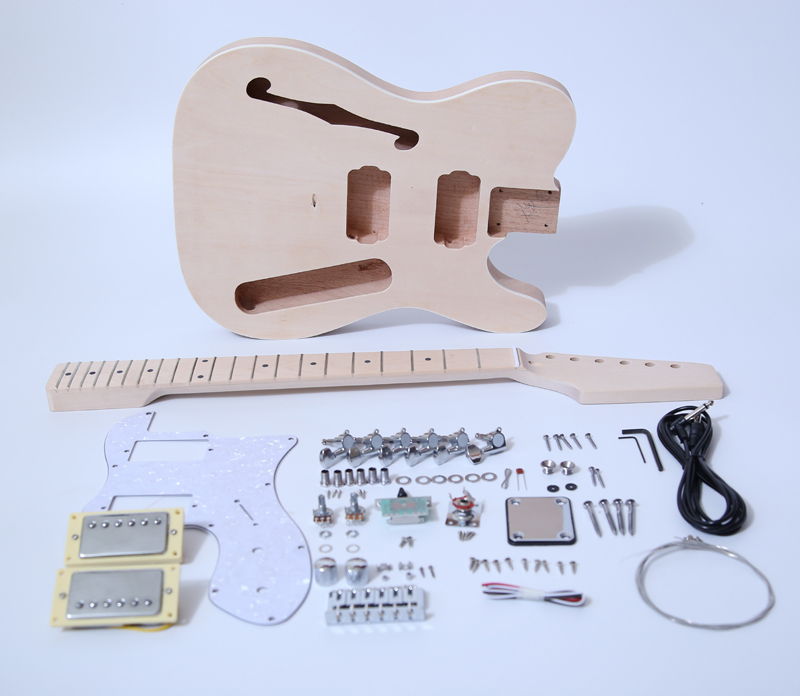 DIY Electric Guitar Kit-TL Thinline Style Build Your Own Guitar Kit SNGK029