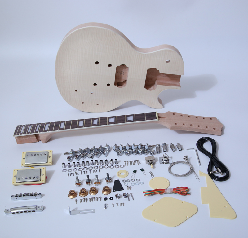 DIY Electric Guitar Kit-Singlecut 12 String Style Build Your Own Guitar Kit SNGK038