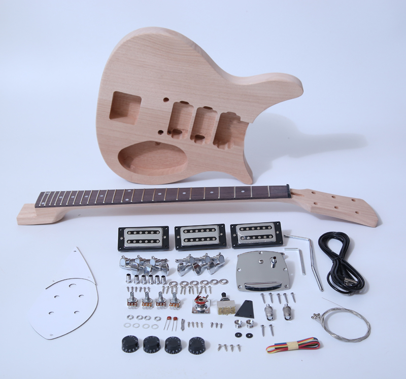 Diy travel Electric Guitar Kits SNGK040