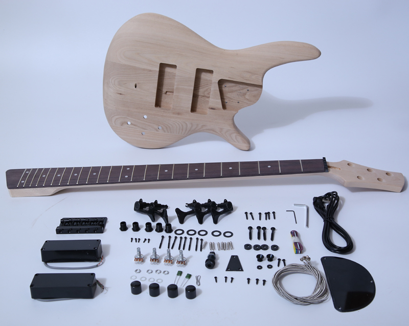 5 Strings Bass Guitar Kits- 5 String Ash Bass SKU068