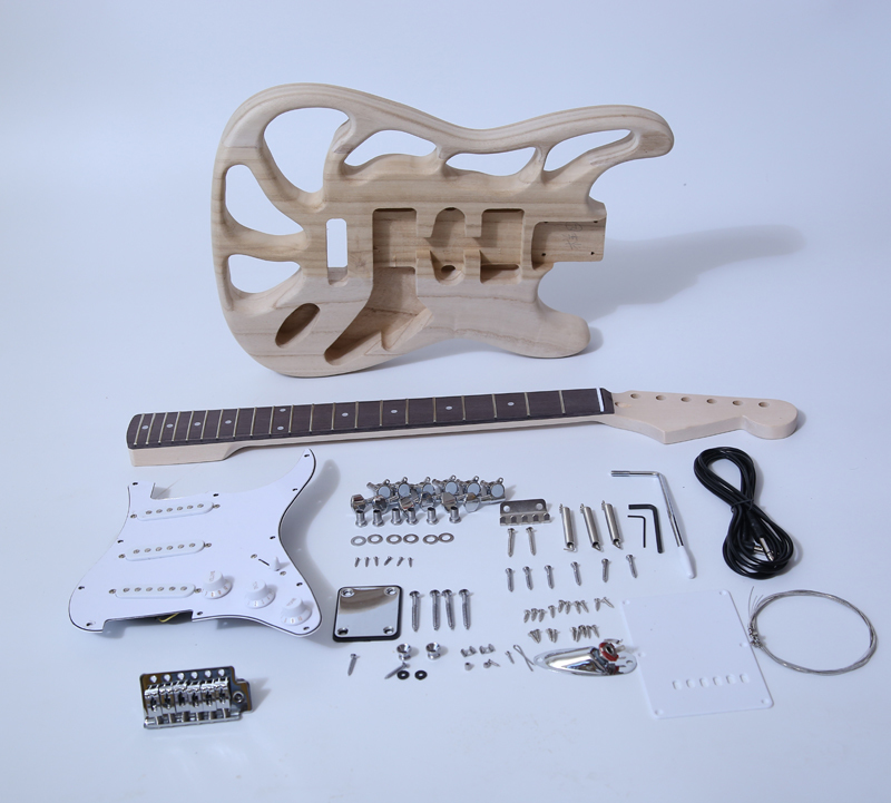 Electric Guitar Kits-ST Style Build Your Own Guitar SNGK064T