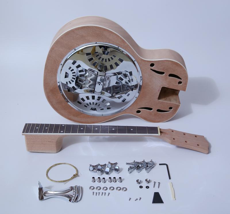Electric Guitar Kits-Resonator Guitar Acoustic Kit SNGK063W