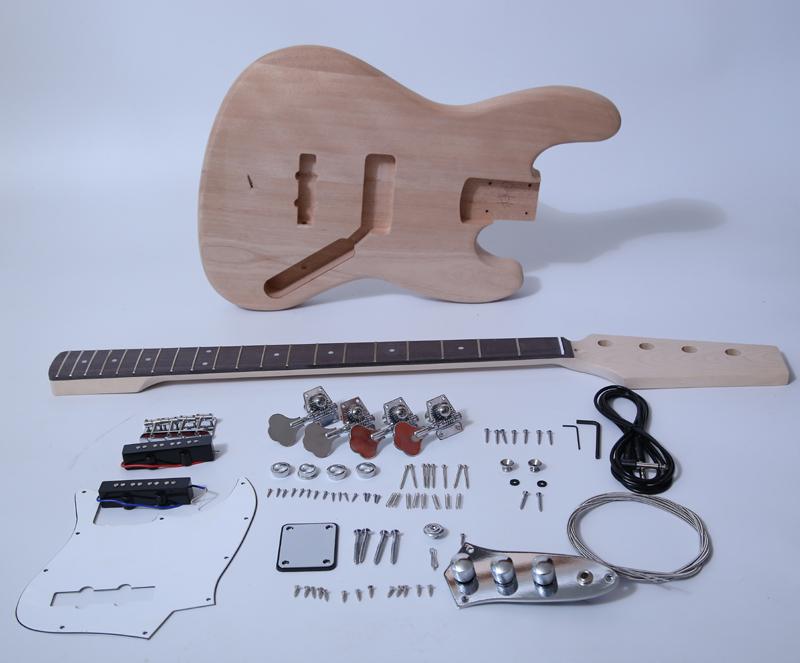 DIY Electric Bass Guitar Kit - J Bass Build Your Own SNBK001