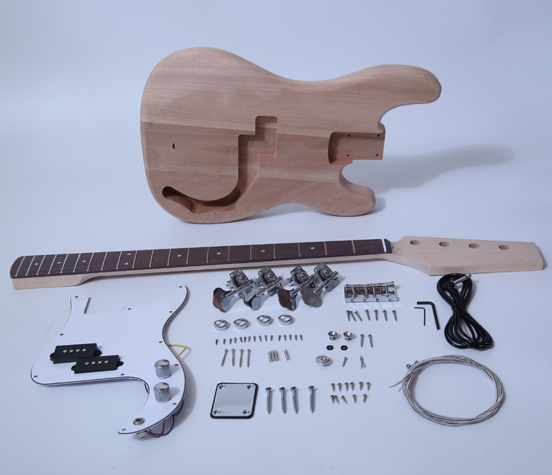 DIY Electric Bass Kit - P Bass Kit SNBK002
