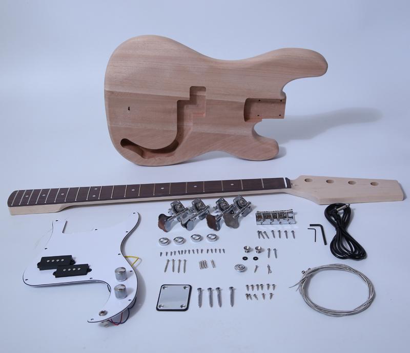 DIY Electric Bass Kit - P Bass Kit SNBK002
