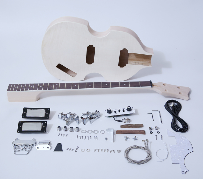 DIY Electric Bass Guitar Kit-Violin Bass Build Your Own SNBK003
