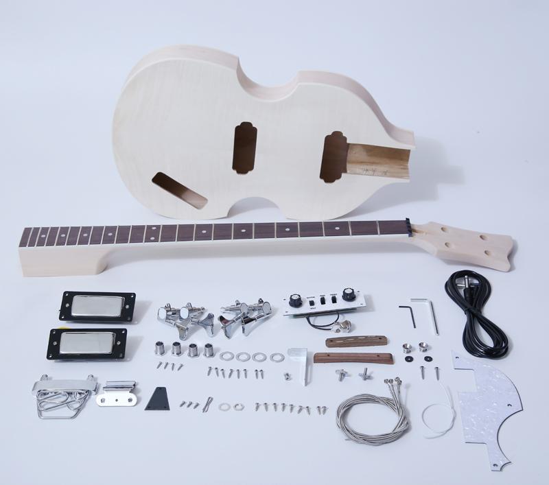 DIY Electric Bass Guitar Kit-Violin Bass Build Your Own SNBK003