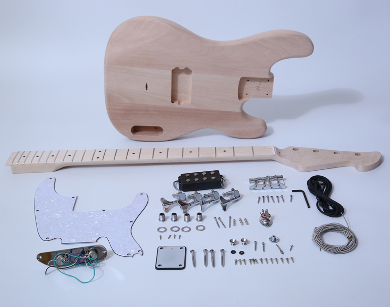 DIY Electric Bass Guitar Kit - 70s TL Bass Build Your Own Bass Kit SNBK006