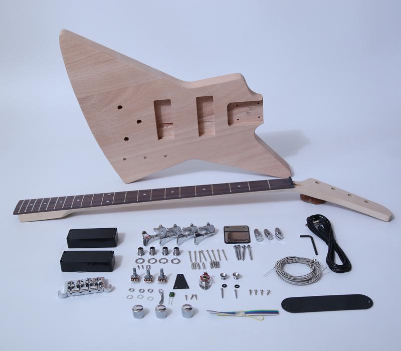 XuQiu snbk005 custom bass guitar kits manufacturer for beginner