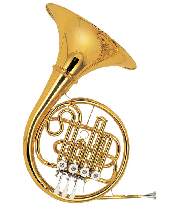 Single French Horn 4 Keys XFH003