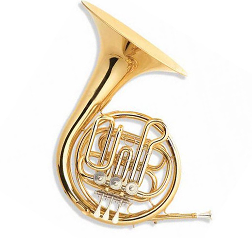 Single French Horn 3 Keys XFH006