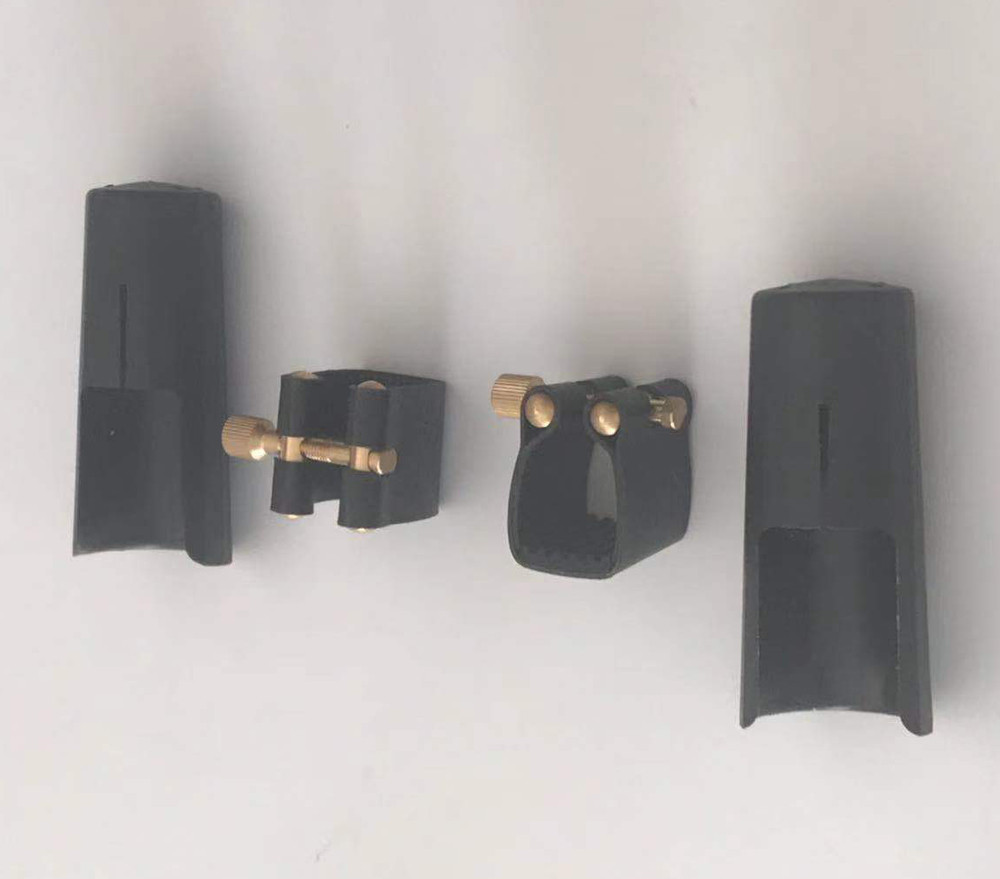Cap and Ligature for alto saxophone mouthpiece CAL002