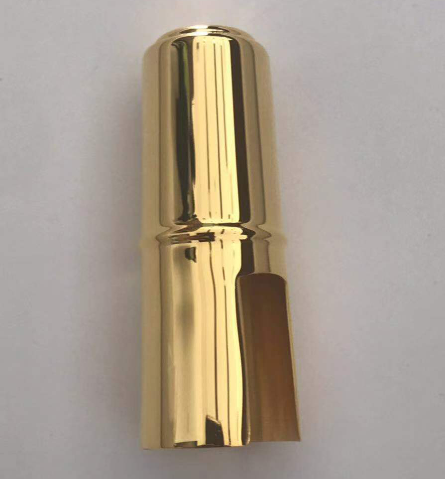 Gold Metal Cap for musical instrument