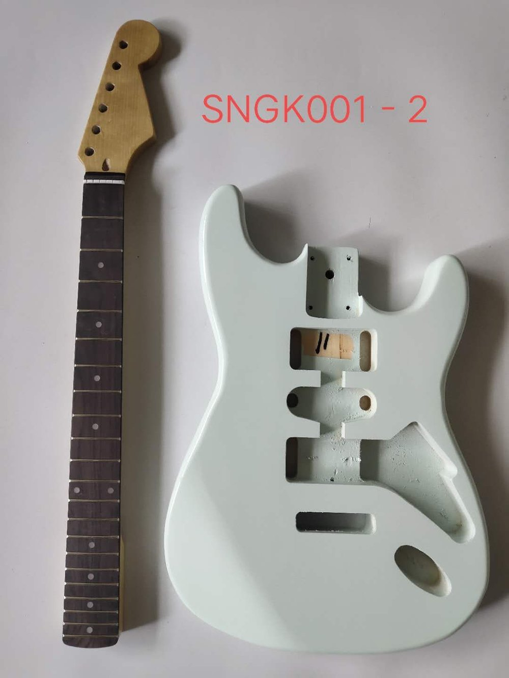 SNGK001-2 ST Guitar Kits with Paiting