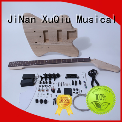 XuQiu custom bass guitar kit woodwind instruments for student