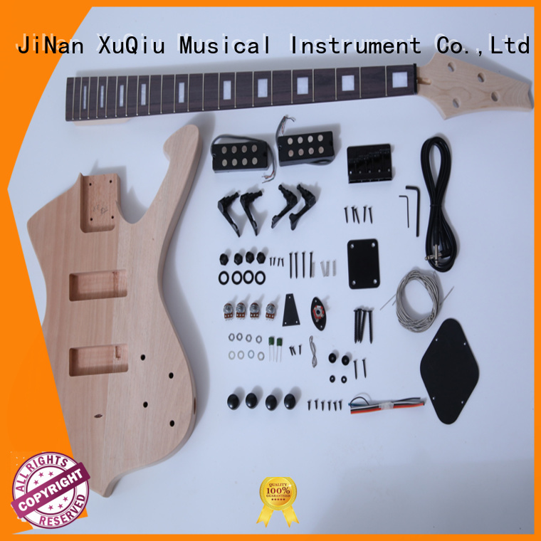 XuQiu electric telecaster bass kit for sale for concert