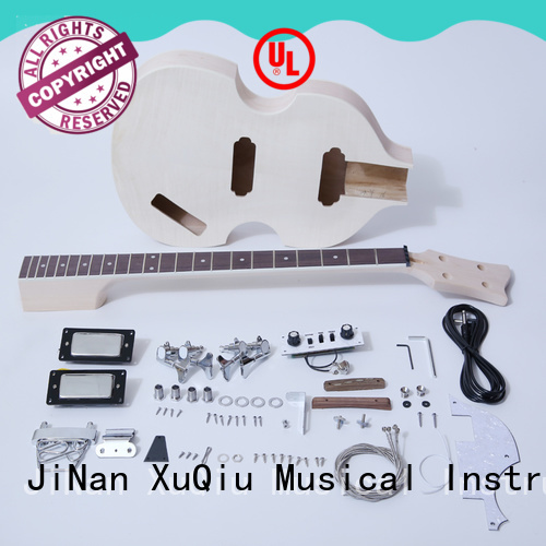 XuQiu diy neck through bass kit for sale for student