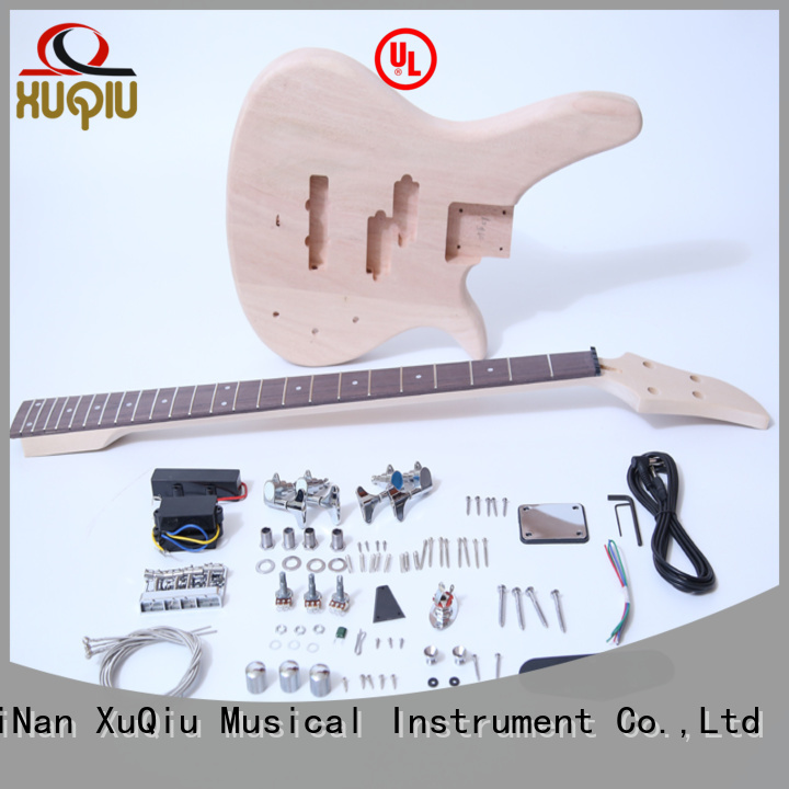 XuQiu electric build your own bass kit woodwind instruments for beginner