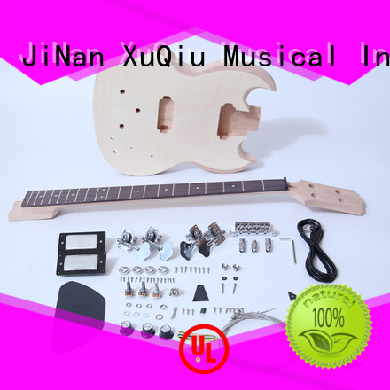 XuQiu electric semi hollow bass kit for sale for student