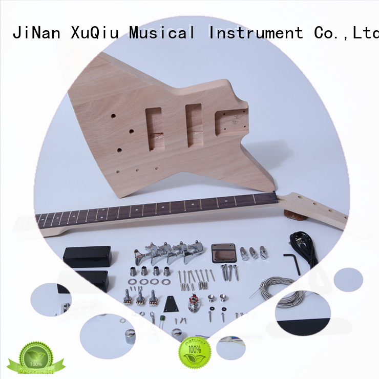 diy electric bass guitar kits snbk002 manufacturer for student