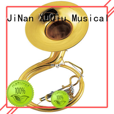 XuQiu xss003 brass sousaphone band instrument for student