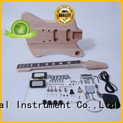 XuQiu diy hollow guitar kit manufacturer for beginner