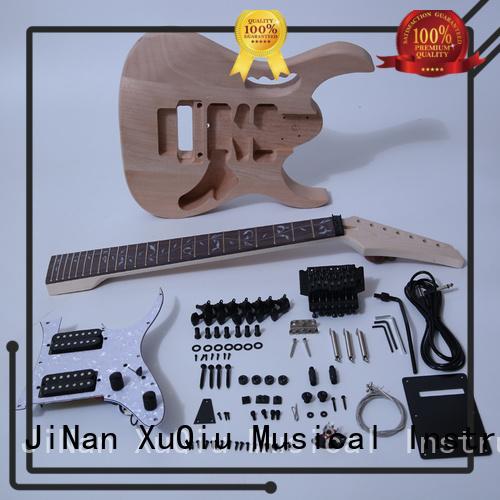 XuQiu semi hollow body guitar kit for sale for kids