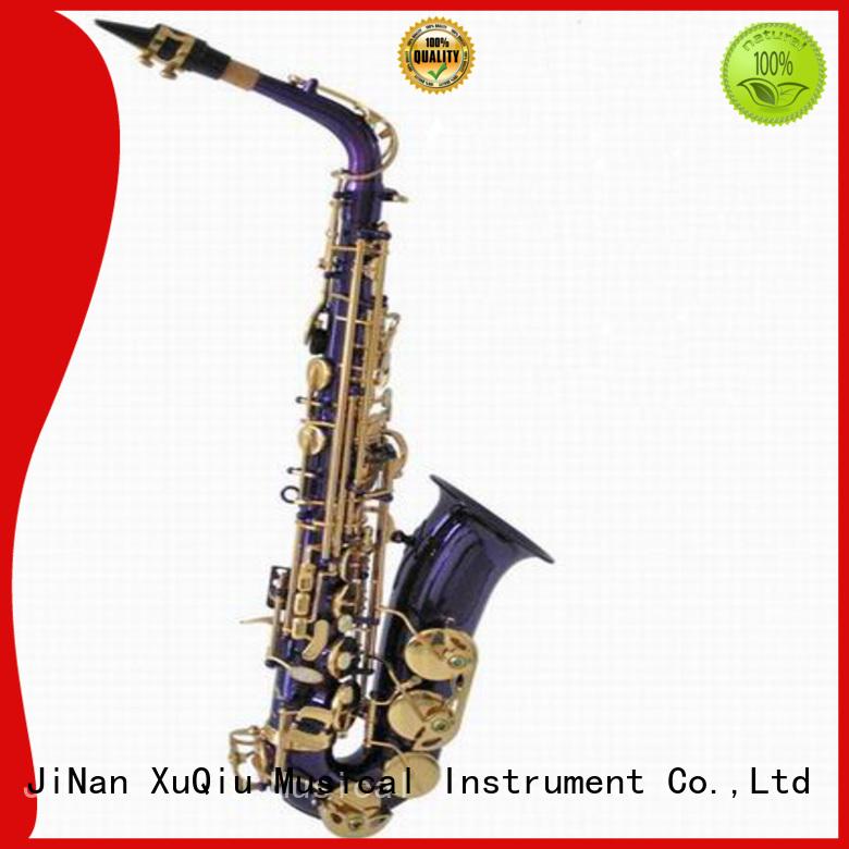 XuQiu professional straight alto saxophone brands for beginner