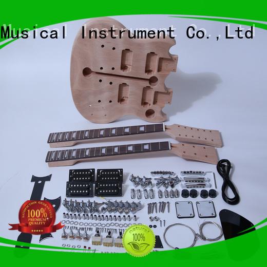 unfinished left handed guitar kit manufacturer for performance