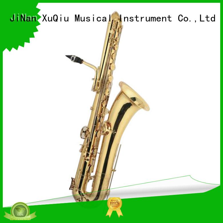 XuQiu professional contrabass saxophone price band instrument for concert