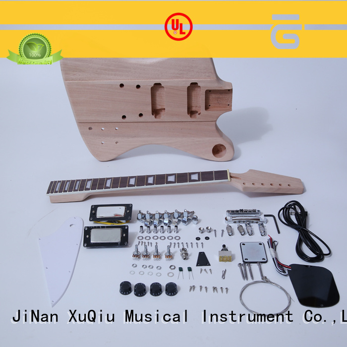 XuQiu acoustic electric guitar kit for sale for concert