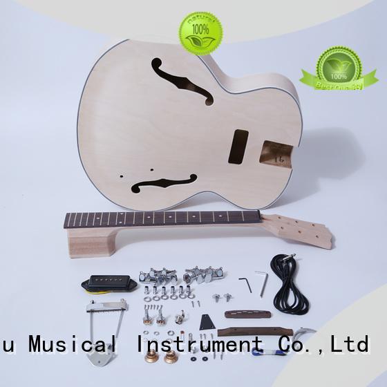 best semi hollow body guitar kit manufacturer for beginner