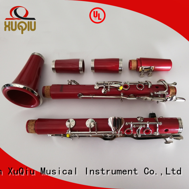 XuQiu color high g clarinet manufacturer for kids