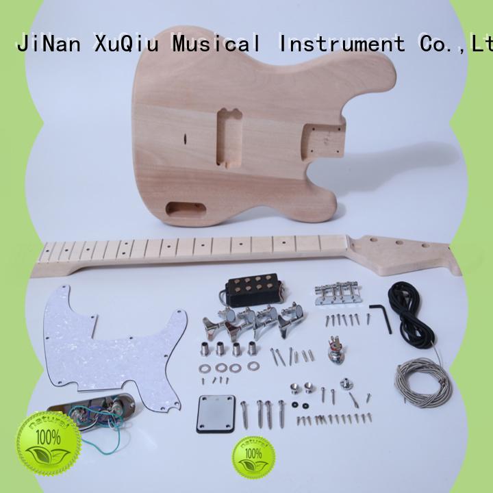 XuQiu build neck through bass kit woodwind instruments for kids