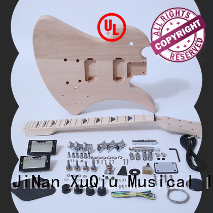 XuQiu high end double neck guitar kit for sale for concert