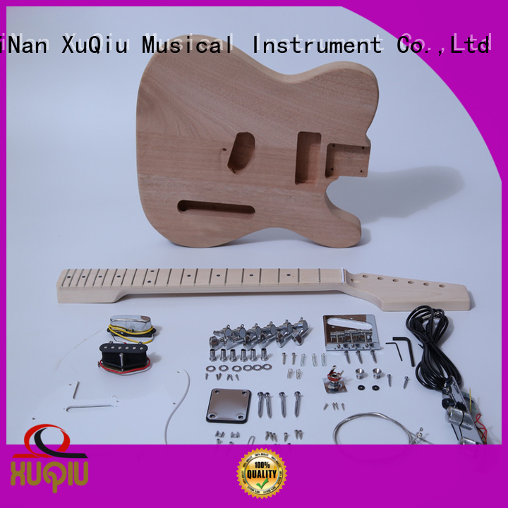 XuQiu diy acoustic electric guitar kit for sale for concert