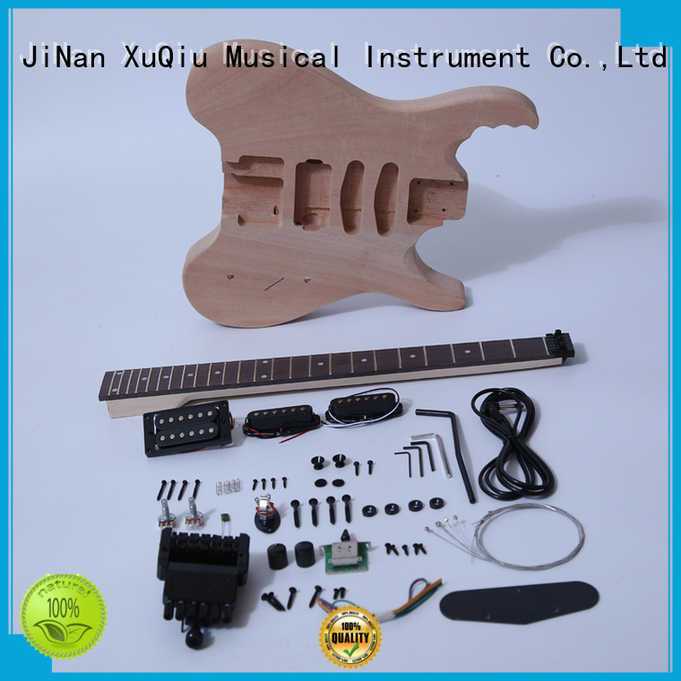 XuQiu unfinished guitar kits supplier for performance