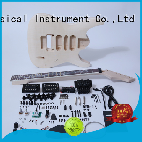 XuQiu custom hollow body guitar kit for sale for beginner