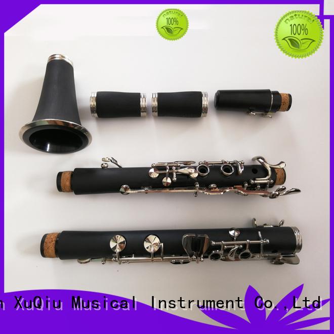 XuQiu metal high g clarinet woodwind instruments for concert